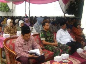 Pejabat yang hadir di Halal Bi Halal